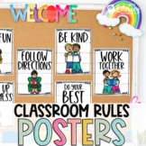 Pandemic Posters | Classroom Safety | Social Distancing Co