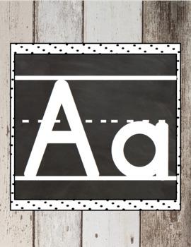 Farmhouse / Shiplap Alphabet Bundle - Free
