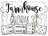 Farmhouse Shiplap Calendar Set