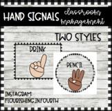 Farmhouse Shiplap Hand Signals