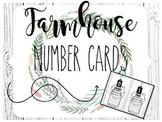 Farmhouse Shiplap Number Cards 0-20