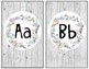 Farmhouse Shiplap & Succulent Alphabet Posters
