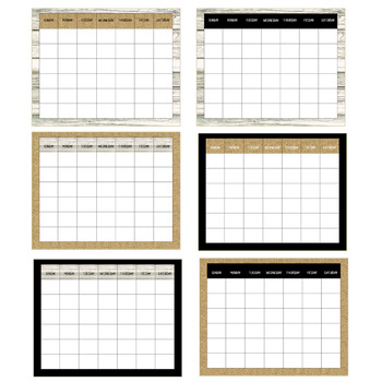 Farmhouse Simplicity- Calendar (Editable)