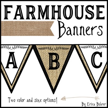 Farmhouse Style Banners Banners