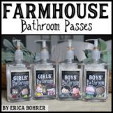 Farmhouse Style Bathroom Passes