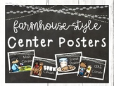 Farmhouse-Style Center Signs