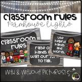 Farmhouse Style Classroom Rules