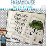Farmhouse Decor Kit- Editable