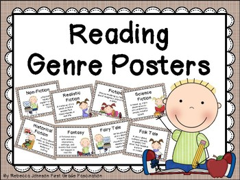 Farmhouse Style Reading Genre posters