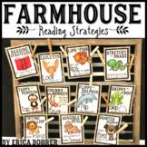 Farmhouse Style Reading Strategies {FREEBIE}