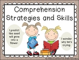 Farmhouse Style Reading Strategies and Skills posters