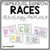 Farmhouse Style Shiplap RACES Strategy Posters & Written Response