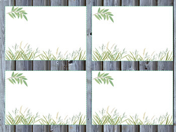 Farmhouse Style Supply Labels or Contact Cards
