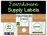 Farmhouse Supply Labels