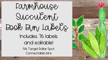Farmhouse Target Bin Labels