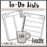 Farmhouse Teacher To-Do Lists