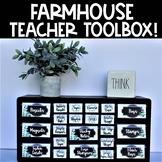 Farmhouse Teacher Toolbox
