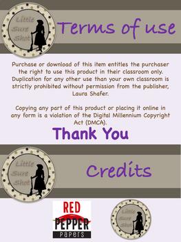 Farmhouse Theme Dolch Primer Word Cards