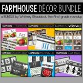 Farmhouse Themed Classroom Decor BUNDLE