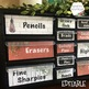 Farmhouse Waco Style Teacher Toolbox Labels -Editable