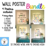 Farmhouse Wall Poster Bundle