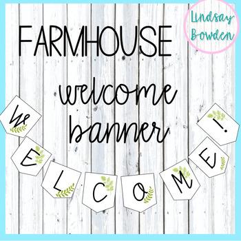 Welcome Banner: Farmhouse