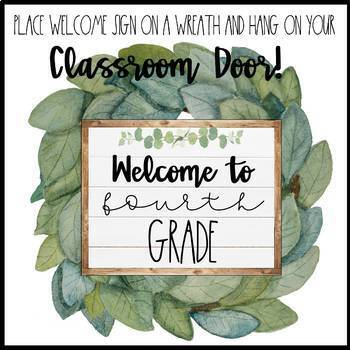 Free Farmhouse Welcome Signs