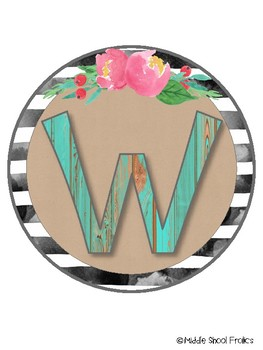 Farmhouse Welcome Sign - Set 1