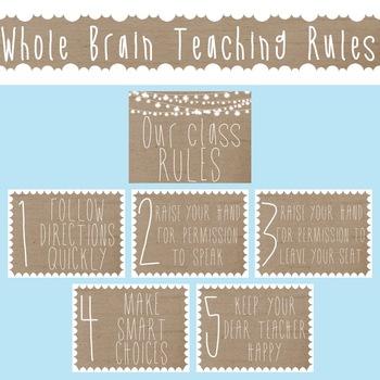Farmhouse Whole Brain Teaching Rules