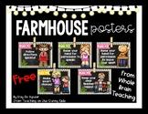 Farmhouse - Whole Brain Teaching Rules - Corrugated Metal