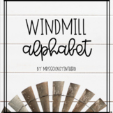 Farmhouse Windmill Alphabet Posters