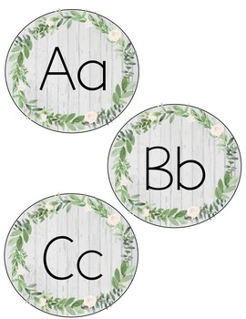 Farmhouse Word Wall Headers
