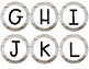 Farmhouse Word Wall Letters