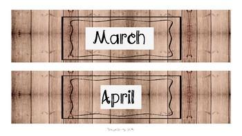 Farmhouse drawer labels