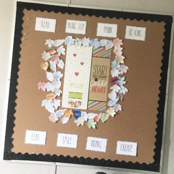 Farmhouse Lettering Inspiration Growth Mindset Decoration