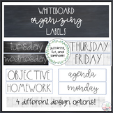 Farmhouse themed whiteboard posters