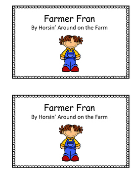 Farming - Emergent Reader