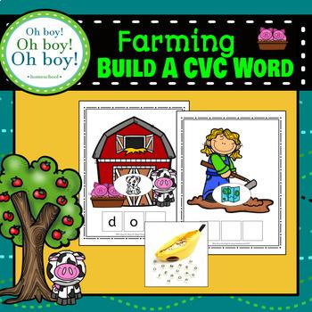 Farming Build a CVC Word - S