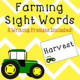 Farming Sight Words and Writing Prompts