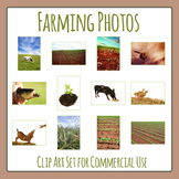 Farming and Agriculture Photos / Photographs Clip Art for Commercial Use