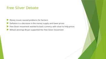 Farming and Populism - Chapter 18 Section 3