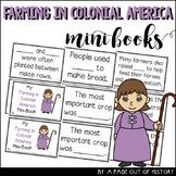 Farming in Colonial America Mini Books Colonial America
