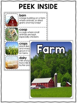 Nonfiction Unit - Farm Activities