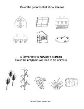 Farm--Common Core--Engage NY--Kindergarten--Domain 5