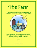 """Farms"" Math and Literacy Unit - Aligned with Common Core"