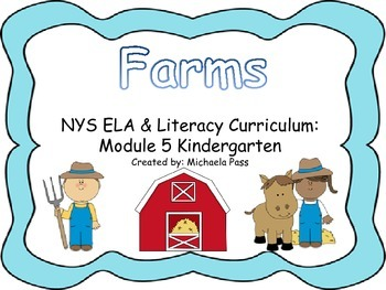 Farms NYS Common Core Domain 5 Kindergarten