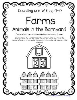 FARM ANIMALS Counting