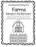 FARM ANIMALS Counting