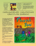 Farmworkers- Thank you for the bounty! Gracias Campesinos!