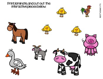 Farmyard Hullabaloo Interactive Books